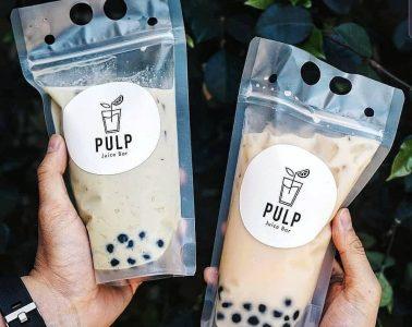 Sản Xuất Túi Nhựa Zip Đựng Trà Sữa